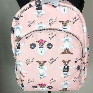 Betsey Johnson | Yoga Dog Backpack